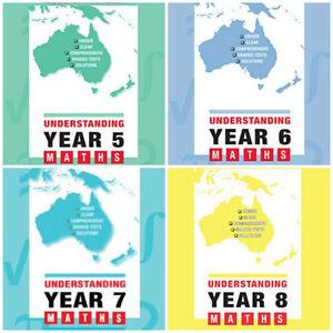 Details about Understanding Maths: Years 5-8: Australian Curriculum Edition  ( 4 BOOKS)