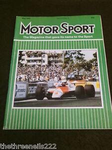 Details about MOTORSPORT - MAY 1982 - FIAT 2000 TC MIRAFIORI