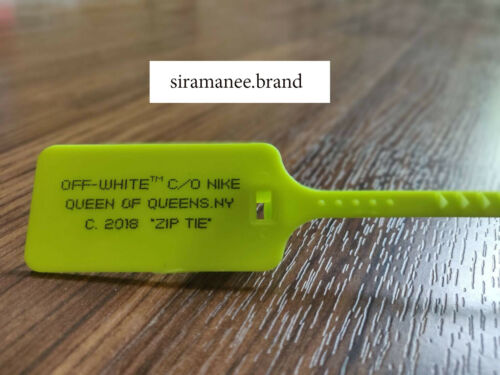 2018A6 ZIP-TIE  OFF WHITE THE TEN   SHOES OFF WHITE ZIP TIE CUSTOM SHOES 2017