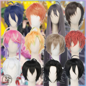 Details about Hypnosis Mic - Division Rap Battle Wigs 12 Anime Voice Actors  Hair Cosplay Wig