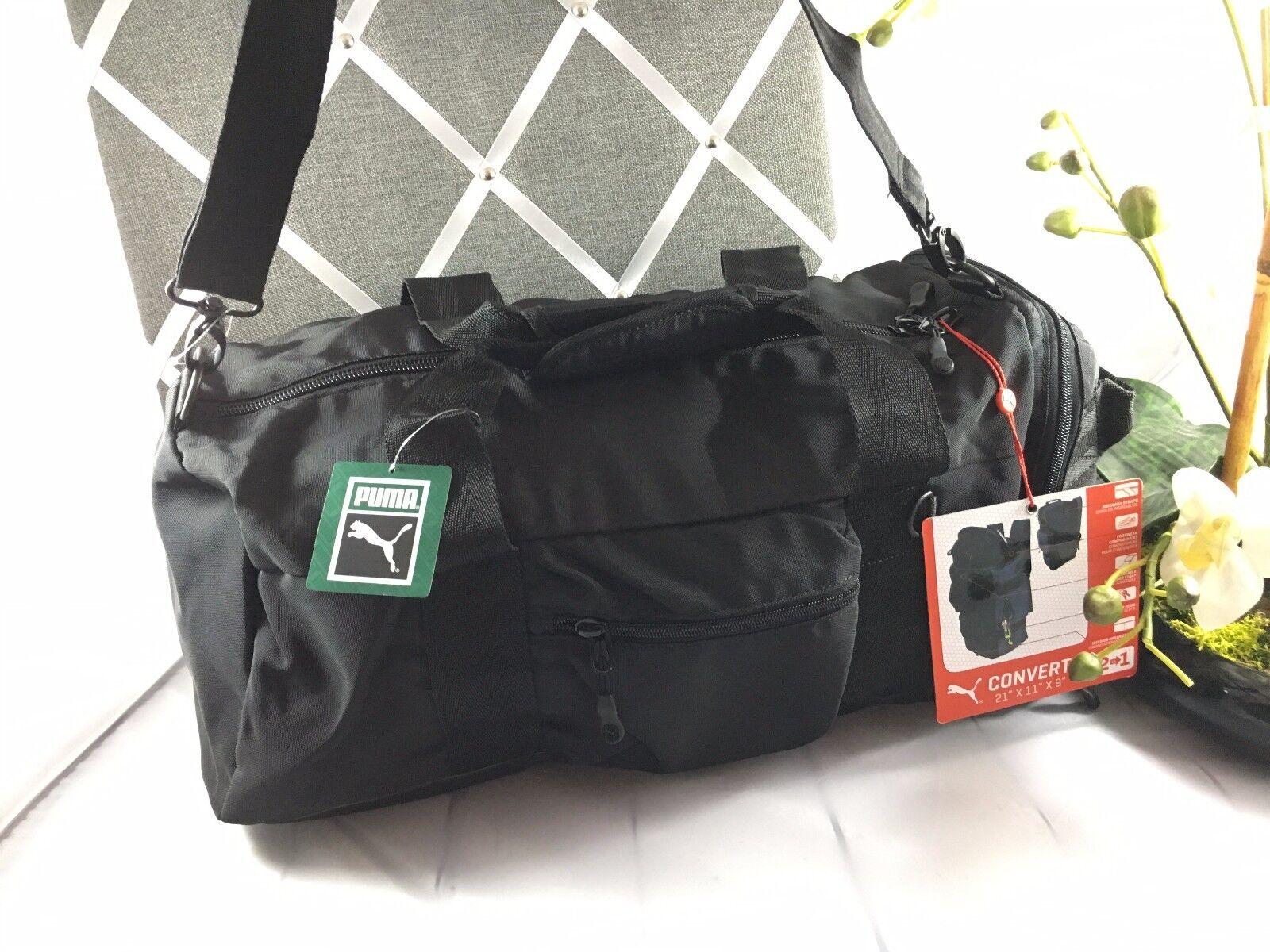 NWT PUMA Mainline CONVERT HYBRID DUFFEL BAG pick color Backpack Duffel 2 in  1   eBay 9f07c8901b