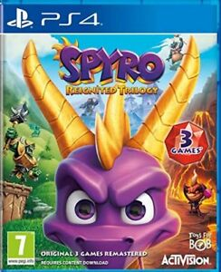 Spyro-Reignited-Trilogy-PS4-BRAND-NEW-AND-SEALED-IN-STOCK-QUICK-DISPATCH