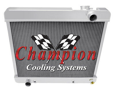 1961 1962 1963 1964 1965 Econoline V8 3 Row Champion ADV All Aluminum Radiator