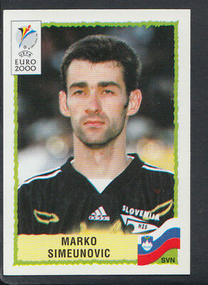 Marko Simeunovic Panini UEFA Euro 2000 Football Sticker No 255 S672