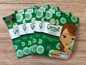 Cucumbers Calming DIY Powder To Clay Mask by yes to #17