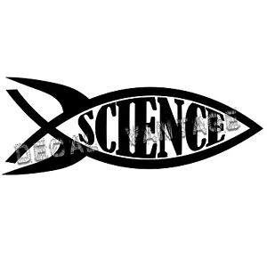 Science-Fish-Vinyl-Decal-Sticker-Funny-Rocket-Space-Choose-Size-amp-Color