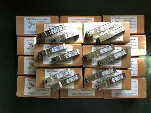 Box of 2 3COM 3CSFP93-4500 SFP Transceivers 1000Base-T New In Box//Open