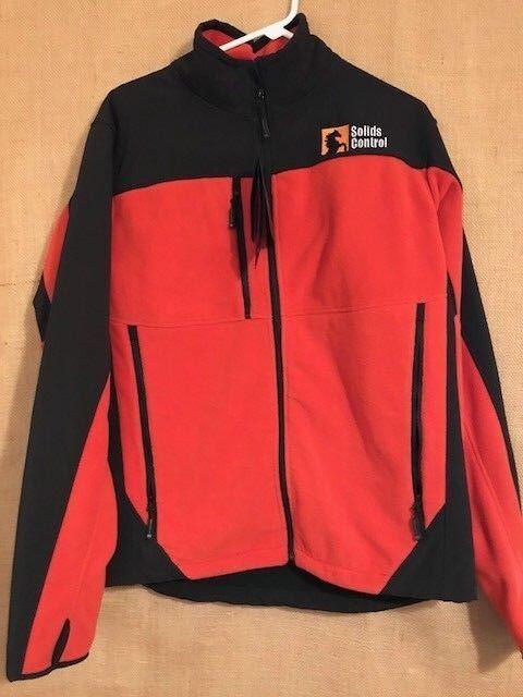 "NWT Stormtech men's style SFJ-2 Large Hybrid Fleece Softshell logo ""Solids Cont"