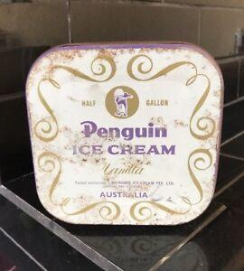 Penguin-Vanilla-Ice-Cream-Half-Gallon-Vintage-Tin-Kitchenalia