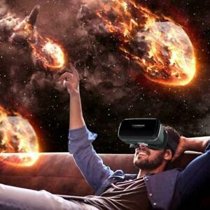 3D-Virtual-Reality-Gaming-PC-VR-Headset-Film-VR-Spiel-Brille-Schwarz