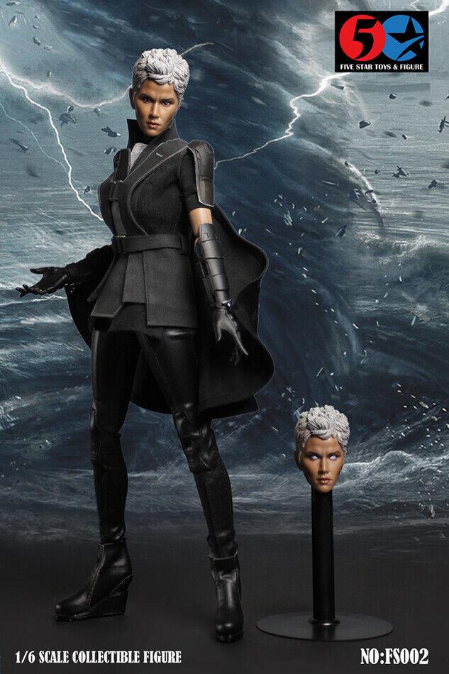 ❶USA FAST SHIPPING❶ 1 6 X-men Storm OrGold Halle Berry Female Figure Full Set