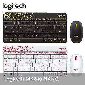 762c1468bab Image is loading Logitech-MK240-NANO-USB-Receiver-Wireless-Keyboard-and-