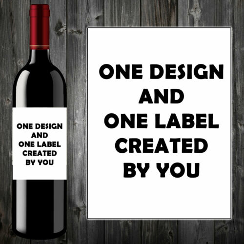 PERSONALISED FUNNY WINE BOTTLE LABEL BIRTHDAY CHRISTMAS ALL OCCASIONS QUALITY