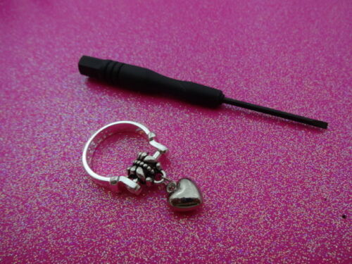 Modifiable Charm Dangle Ring Taille 6