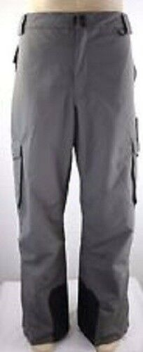 cd6581ebca Slalom Ski Pants Insulated Men s Cargo Gray Snow Winter Size 3xl for ...