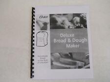 Oster breadmaker 5839 user manual