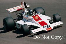 Graham Hill Embassy Racing Hill Lola T370 Italian Grand Prix 1974 Photograph