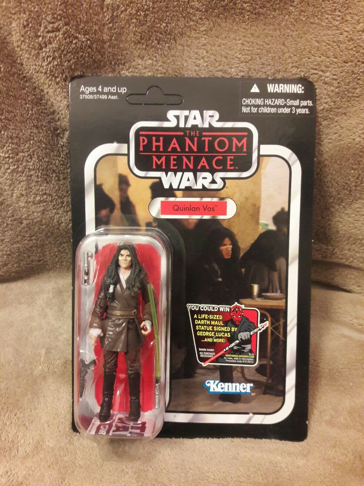 Star - wars - die dunkle bedrohung quinlan vos action - figur vc85 unpunched
