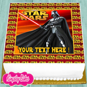 STAR-WARS-PERSONALISED-BIRTHDAY-7-5-INCH-PRECUT-EDIBLE-CAKE-TOPPER-J517K