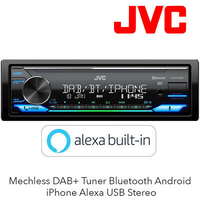 Radio Digital con Dab JVC KD-X272DBT y Bluetooth