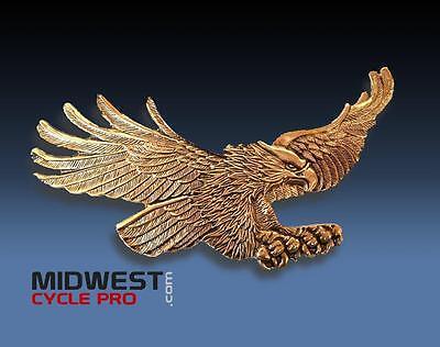 "Gold 6-1/4"" American Flying Eagle Emblem GL1800 GL1500 Goldwing  (15138-394)"