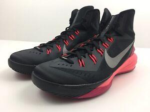 best service a2af5 e8f86 Image is loading Nike-Hyperdunk-2014-Black-653640-006-Punch-Basketball-
