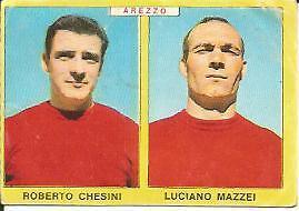 FIGURINA CALCIATORI PANINI 1966//67-SPAL-MASSEI AA