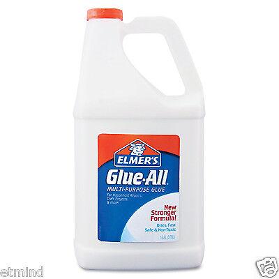 Elmers All Purpose Glue All Non-Toxic White Washable Bottle - 1 Gallon Refill