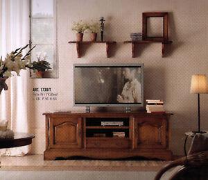 MOBILE PORTA TV BASSO ARTE POVERA SOGGIORNO | eBay