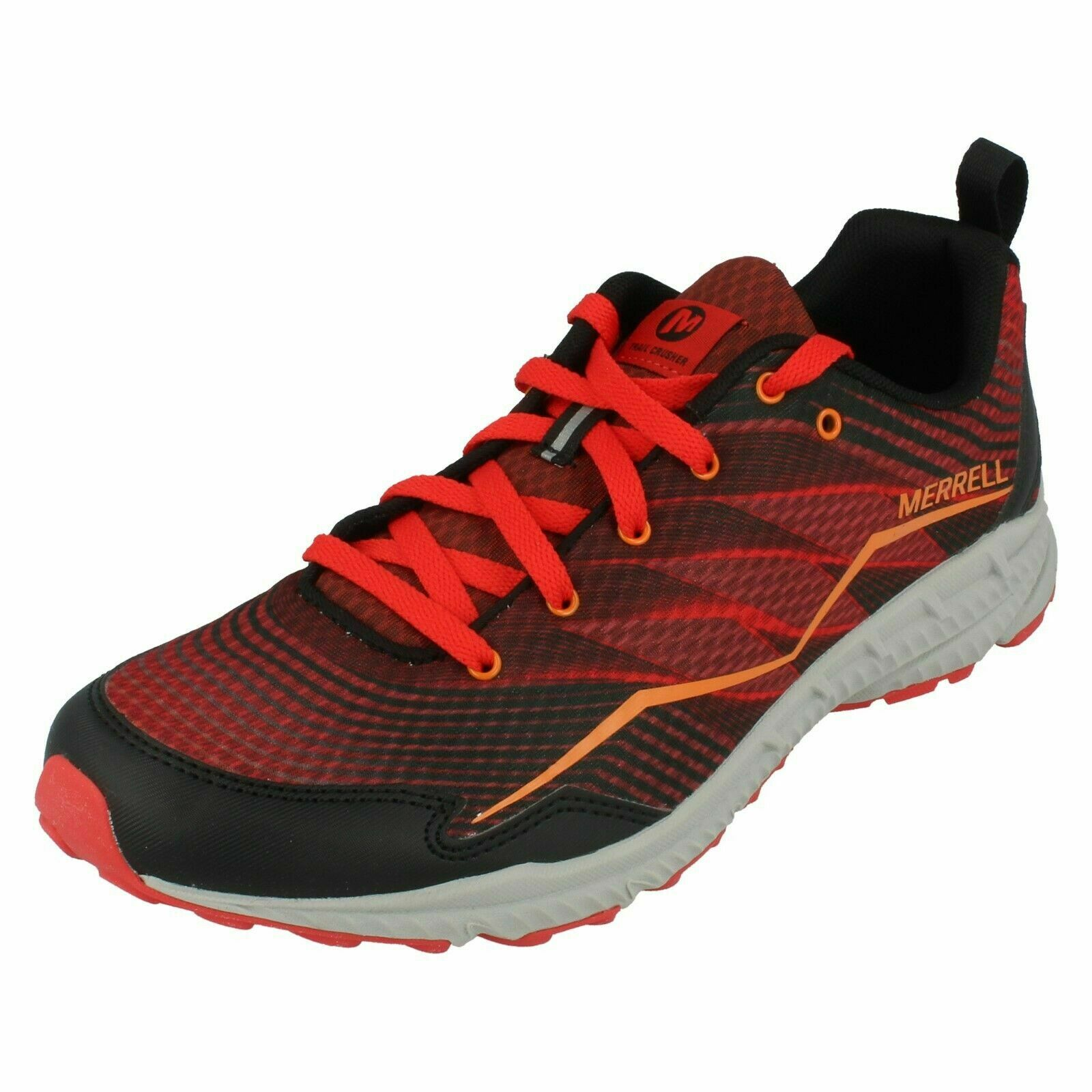 Mens Merrell Lace Up shoes Lightweight Running shoes Trail Crusher J37753 Size