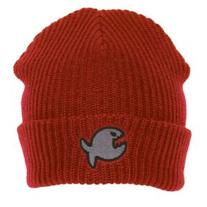 IQ-Company-Muetze-Beanie-Wool-Cap-Hut-Fish-red