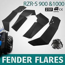 4Pcs Fender Flares Mud Guard Flaps for Polaris RZR-S 900 RZR-S 1000 UTV 2015-17