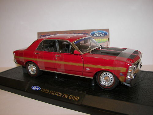 NEW IN BOIX Ford Falcon XW GTHO 1 32 Limited Edition -  Candy Apple rojo