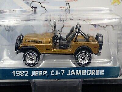 Greenlight 1:64 Anniversary Collection R7 1982 Jeep CJ-7 Jamboree 30th Anni.