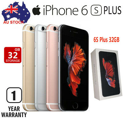 Details about  New Apple iPhone 6s Plus 32GB Gray Gold Silver (Unlocked) A1687~Sealed Unopened