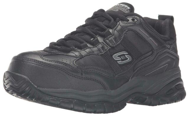 Skechers Mens Grinnel Low Top Lace Up Walking Shoes, Black, Size 10.5 cjqi