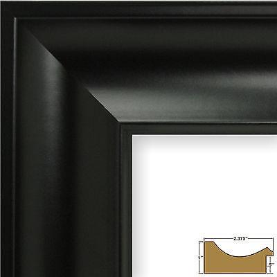 "Craig Frames Lenox, 2.3"" Traditional Black Picture Frame"