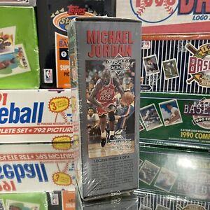 1991-92 Upper Deck NBA Locker Series Basketball Cards Box 4 of 6 Factory Sealed