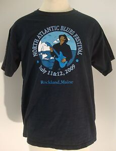NORTH-ATLANTIC-BLUES-FESTIVAL-2009-ROCKLAND-MAINE-MENS-SIZE-LARGE-EUC