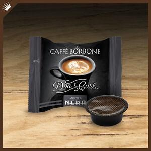 100-Capsule-Caffe-Borbone-Don-Carlo-Miscela-Nera-compatibile-Lavazza-a-Modo-Mio