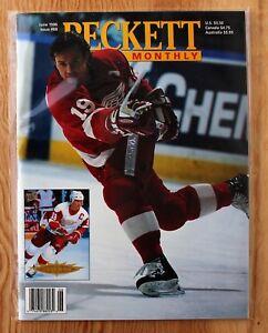 Beckett-Hockey-Monthly-June-1996-Steve-Yzerman-amp-Roman-Hamrlik-Covers