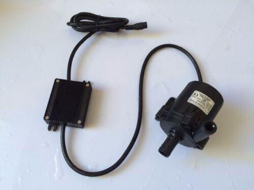 1260LPH 50K-12120S 12V DC Micro Brushless Pump Mini Solar Submersible pump 12M