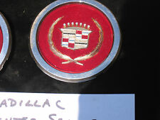 1981-1985 CADILLAC HUBCAP CENTER,SEVILLE,GOLD CENTER EMBLEM,HOLLNDER #2046