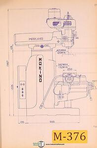 makino kbp 55 kga kgap milling operations and parts manual ebay rh ebay com manual makino a61 makino manual pdf