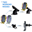 thumbnail 21 - Wireless-Automatic-Clamping-Smart-Sensor-Car-Phone-Holder-and-Fast-Charger-10W