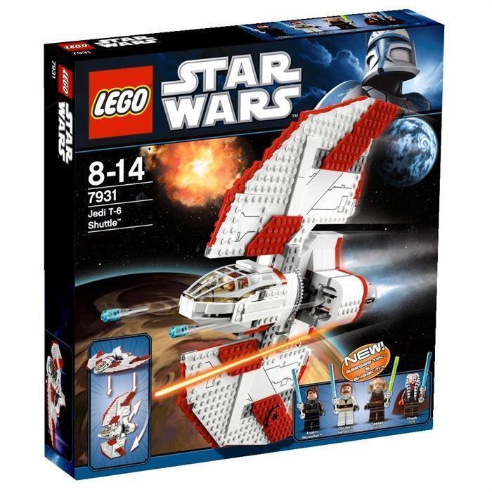 NY  Lego 7931stjärnornas krig T -6 Jedi Shuttle MISB Set x 1