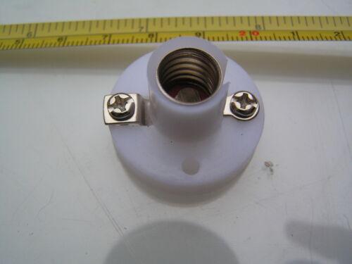 MES Lampada//bulbholder per E10 in miniatura Lampadine a Vite in 1.2 2.2 3.5 6 12 24V OM313