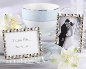 image is loading silver pearls mini photo frame bridal shower wedding