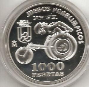 1000 Pesetas année 2000 Paralympiques @ chaise @ QeR8QVcn-07140727-975548089
