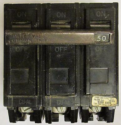 GE Type THQB 15 Amp 3-Pole Breaker
